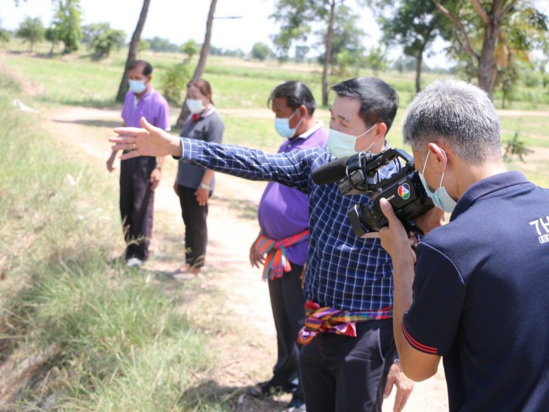 นายกเทศมนตรีตำบลบัลลังก์ เป็นประธานประชุมชี้แจงการป้องกันและแก้ไขปัญหาการแพร่ระบาดโรคลัมปีสกินในโค-กระบือให้กับเกษตรกร